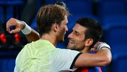 Zverev hails beaten Djokovic as 'greatest of all time'