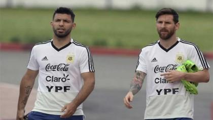 Messi and Aguero in Argentina Copa America squad