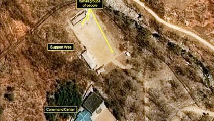 North Korea preps nuke site demolition