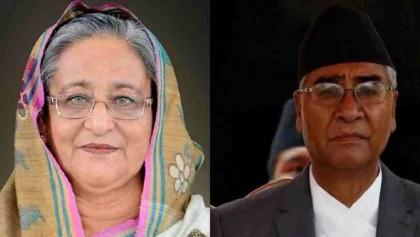 PM Hasina congratulates Nepalese PM Deuba, hopes to strengthen ties