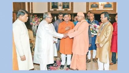 President stresses communal harmony to attain progress