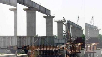 Covid-19, Rain slow down Khulna-Mongla railway project
