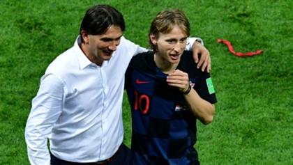 Modric's befitting reply to critics