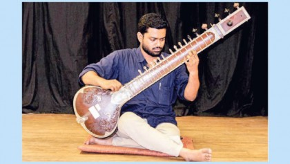 Evening of sitar and tabla at EMK Center today