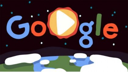 Google Doodle celebrates Earth Day 2019