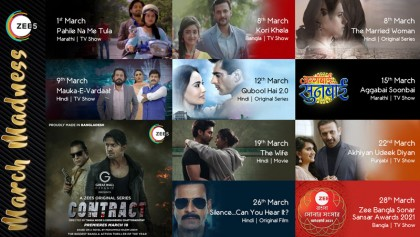 ZEE5 Global announces content slate for March