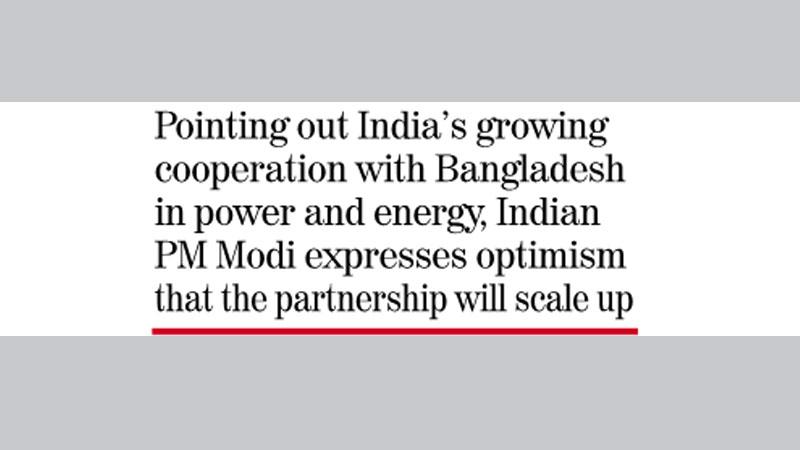 Bangladesh for regional  energy collaboration