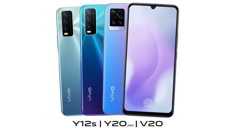 vivo announces discounts on V20, Y20 (2021), Y12S smartphones