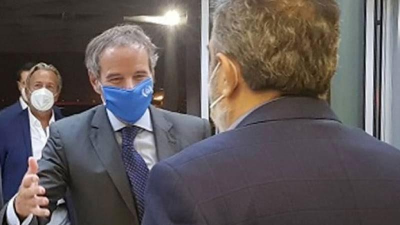 IAEA chief in Iran for talks on nuclear dispute