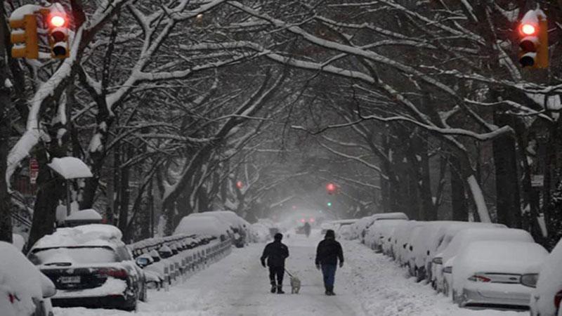 Huge snowstorm hits US east coast, disrupting virus vaccinations