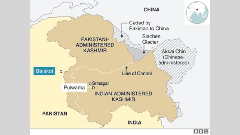 Wars over Kashmir bring only  deaths, not solution