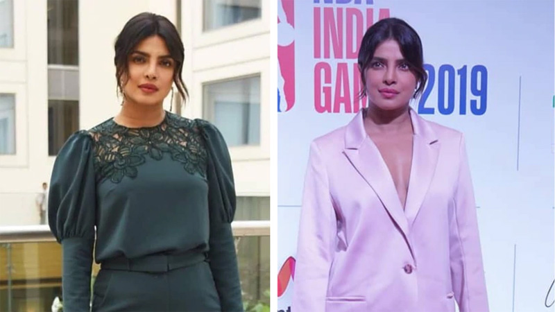 Priyanka Chopra rocks solid colours for The Sky Is Pink promotions