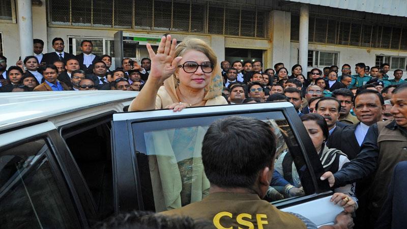 Khaleda graft cases near conclusion