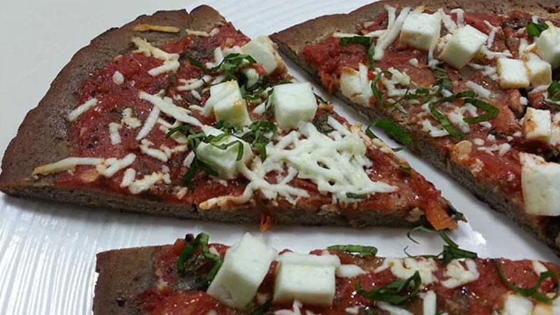 Healthier pizza recipe