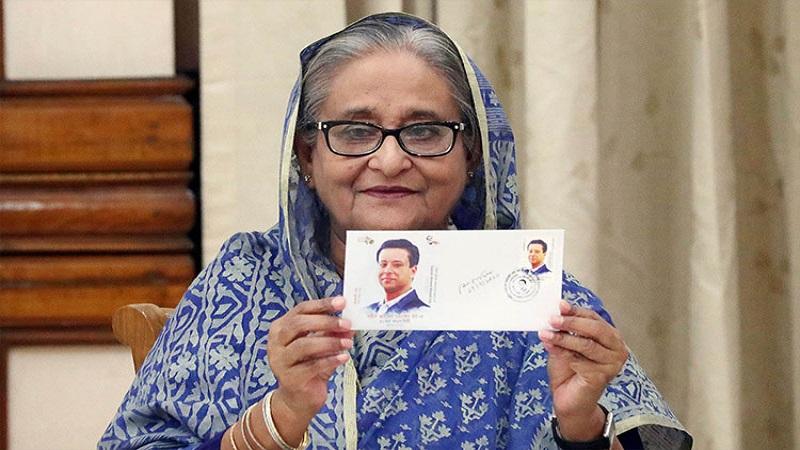 PM releases postage stamp on 50th birth anniversary of Sajeeb Wazed Joy
