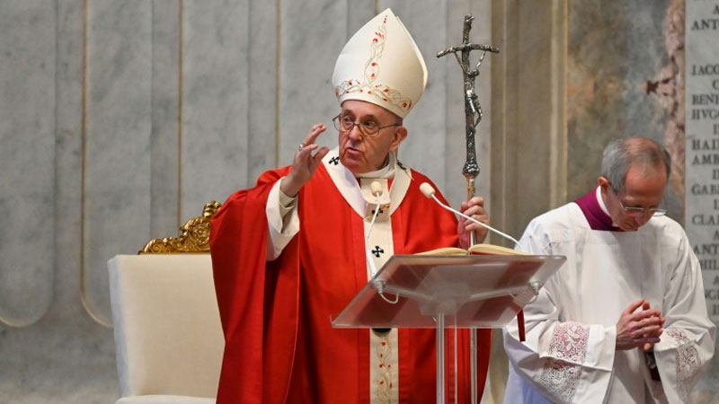 Coronavirus pandemic: Pope urges courage as global death toll tops 65,000