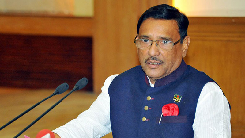 Bangladesh won't response to Myanmar's provocation: Quader