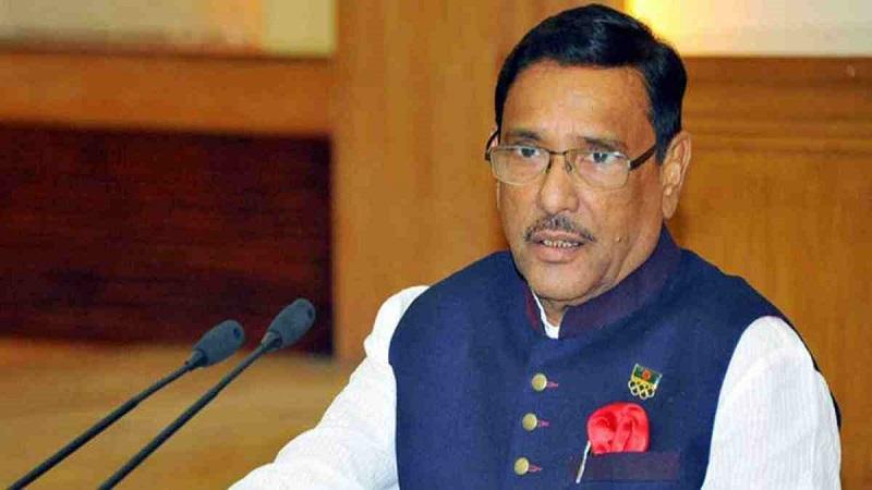 BNP leaders talking absurdly like perplexed travelers: Quader