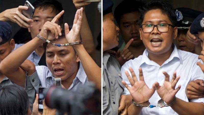 Myanmar court rejects appeal by jailed Reuters journalists