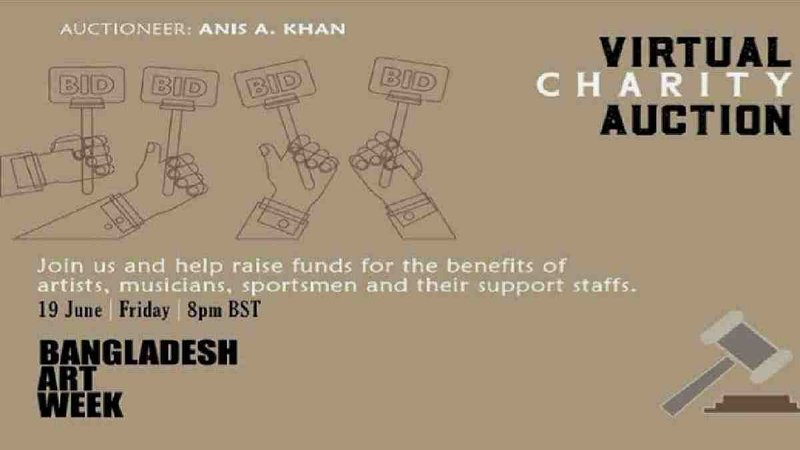 Bangladesh Art Week virtual charity auction to be held Friday