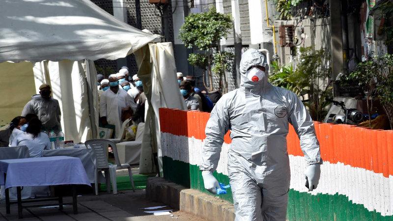 India's Covid-19 cases reach 5,732,518