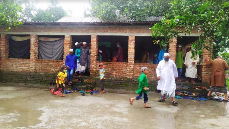 Seven villages celebrate Eid-ul Fitr in Lalmonirhat
