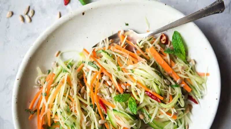 Tricolor salad recipe