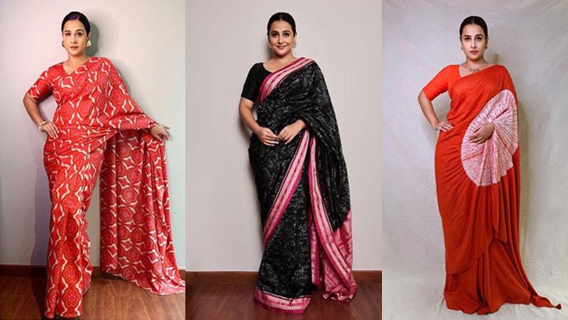 Vidya Balan's beautiful look in saree