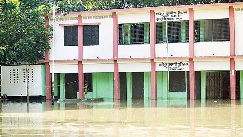 1,100 primary schools shut due to flood
