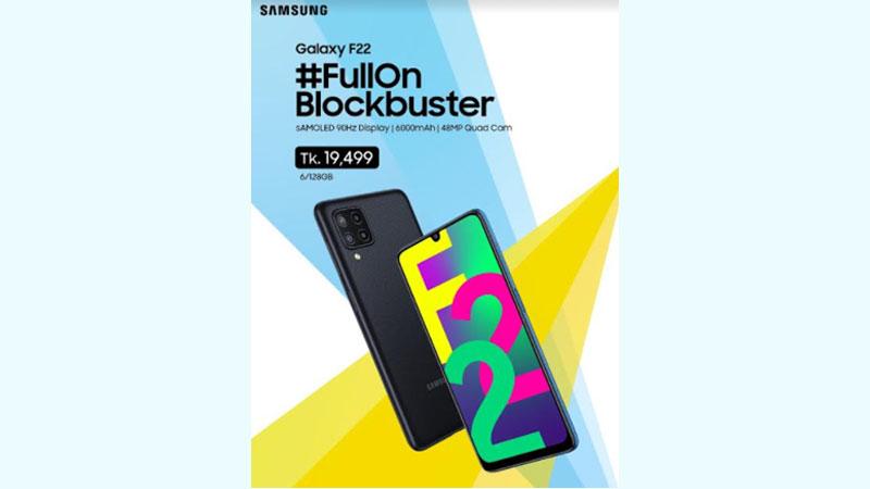 Galaxy F22 hits Bangladesh market
