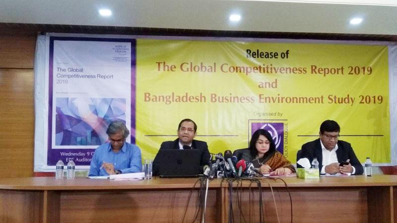 Bangladesh slips 2 positions