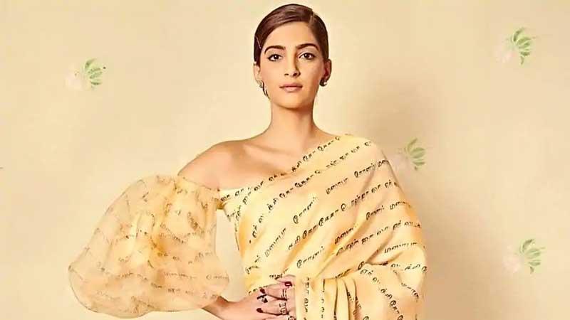 Sonam Kapoor stuns in saree