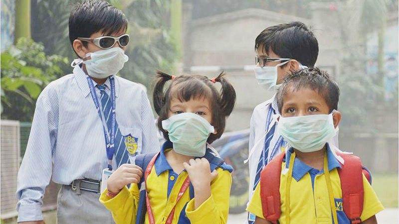 How coronavirus spreads among children