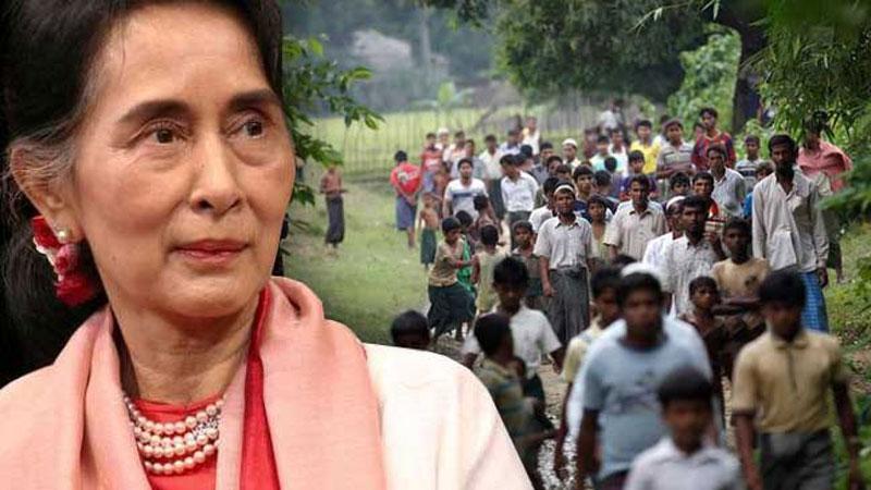 Suu Kyi promises safe return of Rohingyas