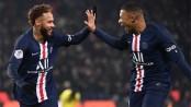 Neymar, Mbappe fire PSG five points clear in Ligue 1