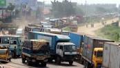 10-km tailback on Dhaka-Ctg highway