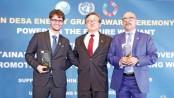 2 Bangladeshi solar firms get $1m UN grant
