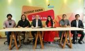Berger teams up with actress Nusrat Faria