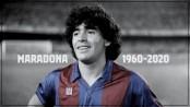 Bangladeshi cricketers pay tribute to Maradona