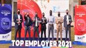 BAT Bangladesh receives 'Top Employers Award' third time in a row
