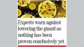 Warm, humid weather may  reduce coronavirus spread