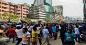 BNP men clash with police in city
