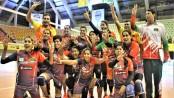 Bangamata Volleyball: Bangladesh beat Kyrgyzstan by 3-2-sets