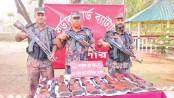 8 smuggled air guns seized