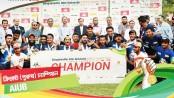 AIUB emerge inter-university cricket champs
