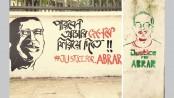 Graffiti stages a comeback over Abrar murder