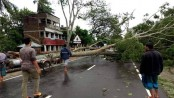 Cyclone death toll rises to 24 in Bangladesh, India
