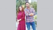 Apurba and Tanha in 'Mithya Prem'