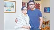 Apurba shares screen with Sharmily in tele-drama
