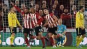 Blades burst Arsenal bubble as Mousset strikes